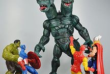 Marvel Universe Action Figures / The Marvel Universe Action Figures Produced By Hasbro