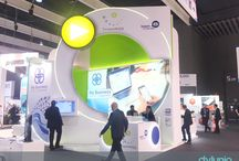 2017 Mobile World Congress (MWC) Leanplum and Streamwide stands