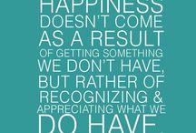 Gratitude / Creative inspiration