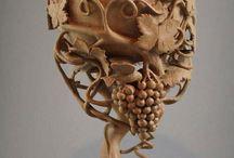 Wood creations / DIY & crafts, wooden art