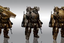 Battle Suits / by Jelly Kelly