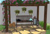Jardim lá de casa