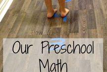 Preschool Math / by Jennifer Forness