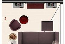 Organização de móveis