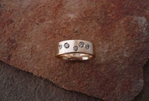 Handcrafted Rings by Gail Golden