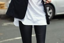 Simply beautiful: black & white fashion
