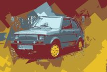 Graphics Fiat 126p / My graphics