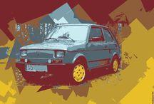 Graphics Fiat 126p / My graphics