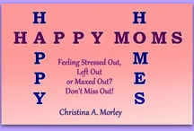Happy Moms, Happy Homes / This blog is based on my eBook with the same title. A mom needs to have inner joy and peace if she wants to create a harmonious home. I believe that spiritual wholeness is the key to true happiness and this blog will help you achieve it. http://happymomshappyhomes.blogspot.com