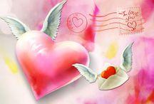 ♥ Valentijnskaarten