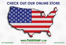 PURE HEMP Online Store / Here Is The Direct Link To Our Pure Hemp Online Shop, You Must Be 18+ Yrs Old and U.S.A Residents Only!