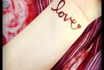 Tattoos / by Crystal Morris