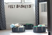 DIY Baby Storage / Clever ways to make baby nursery a clever storage haven. The pins are ideas with links to articles and posts containing instructions on how to build on the DIY idea.