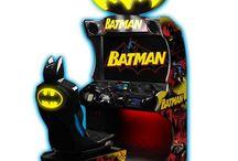 arcade video game (vehicle racing)
