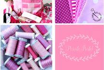 Think PINK! / Sulky Garne Farben Inspirationen
