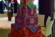 Indian wedding Cakes / by Shreen