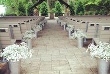 bryllups pynt/dekor