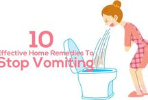 How to stop vomiting