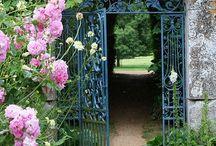 An open gate......