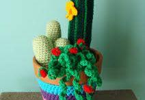 flores catus tejidos