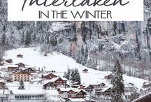 Winter Travel Tips / Tips and tricks for cold-weather trips! The best destinations and locations to visit in the winter.