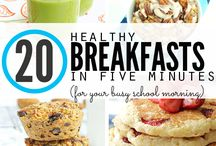 Healthy Homeschool Breakfast Recipes