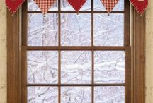 Karácsonyi függöny