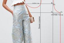 Patterns pants