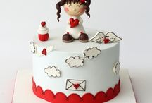 Valentin napi torták