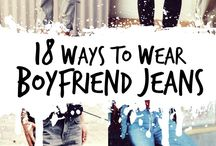 Boyfriend Jeans...