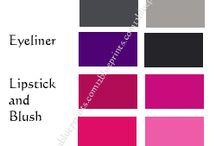 CP - Inverno Brilhante / Coloração Pessoal - Paleta Inverno Brilhante