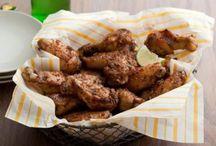 Chicken wings -- yummy! / Chicken Recipies  / by Camilla Botkin