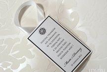 Zawieszki na alkohol / Idealnie uświetnią każde przyjęcie weselne, wzbudzając zainteresowanie gości oraz zachęcając do wspólnej zabawy.