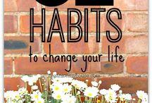 Daily Goals / Habits