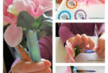 Holiday | MOTHER'S DAY / Kids' crafts and activities for celebrating Mother's Day