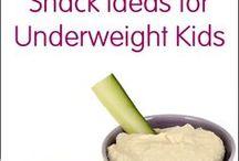 High calorie kids food