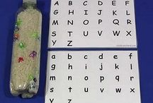 Language: letter recognition and handwriting / by Anne Woodard