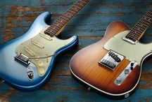 Nice Fender Strats
