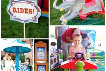 Pint Sized Kiddie Rides / darling rides for little tyke parties that fit in your own backyard!