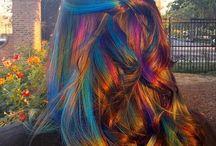 Cabelos|Unha|Maquiagem / #cabelo #façavocemesma #unhas #maquiagem