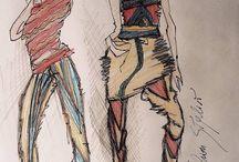 Art Primary Colors Woman / https://www.facebook.com/pg/NDNadineStylistOfficial/photos/?tab=album&album_id=1170412669656085
