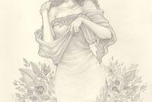 Elbise çizim