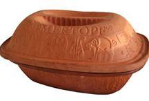 Clay pot cooking / Koken en bakken met een römertopf