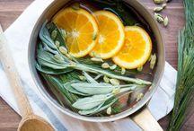 Lemon sage room fragrance