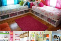 Girls room ideas / by Robby Gee