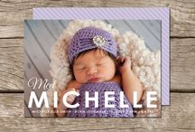 Stationery // Birth Announcements
