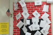 Classroom Decorations / Harry Potter inspired classroom decorations can be a fun way to encourage Muggle students!