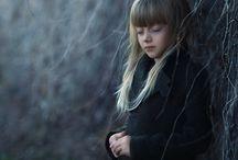 little girls dark mood