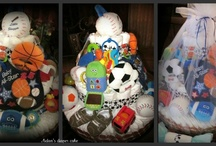 Baby Diaper Cake's & Wipe Cases  :) / by Brittany Casarez