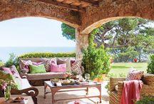 porches, terraces